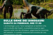 24 febb. sulle orme