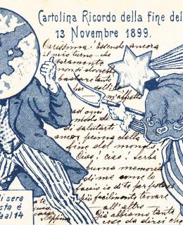 Cartolina fine del mondo