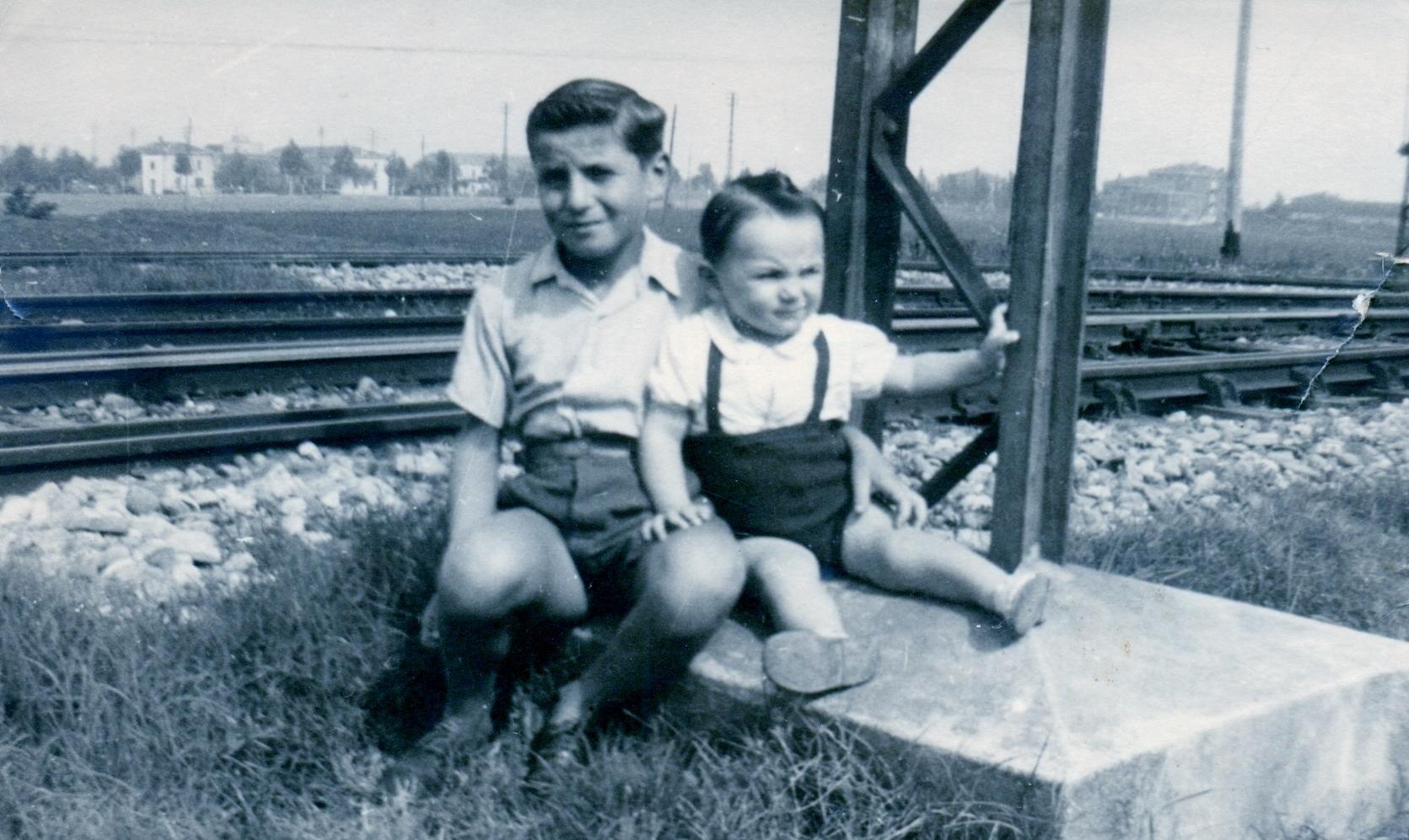1949 Franco Gambuzzi con Renzo