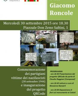 30 sett.San Giacomo Roncole