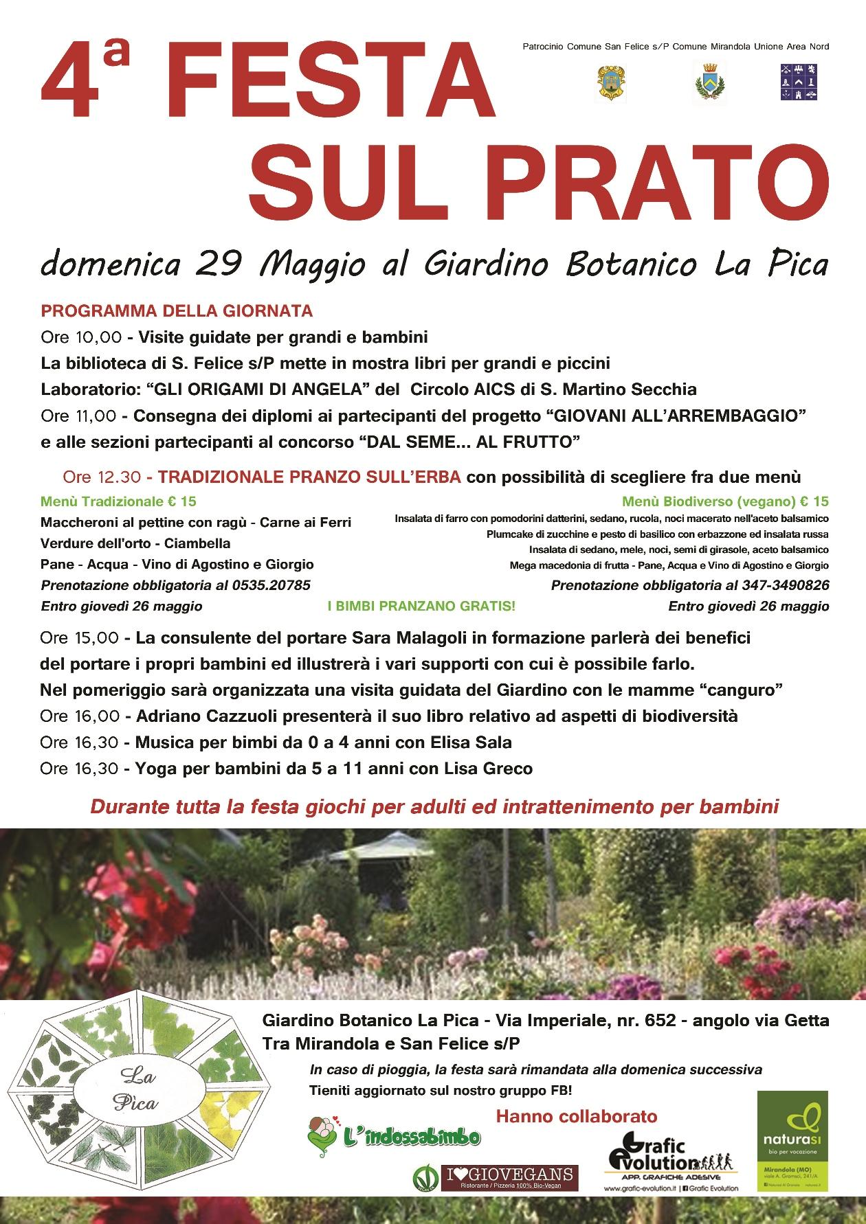 Festa sul Prato Giardino Botanico