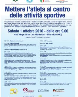 1 ottobre sport