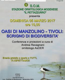 2017 03 05 SOM  CONFERENZA OASI MANZOLINO