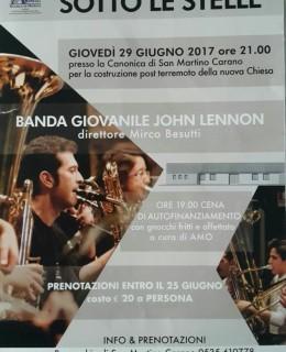 29 Maggio BANDA GIOVANINE JOHN LENNON