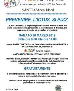 30 marzo prevenire