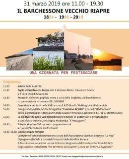 31 marzo inaugurazione