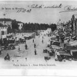 P.zza Umberto I 1902 senza il castello
