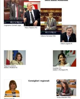 Parlamentari e consiglieri reg della Bassa